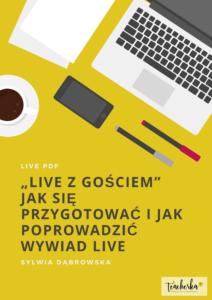 Live z gościem - przewodnik PDF